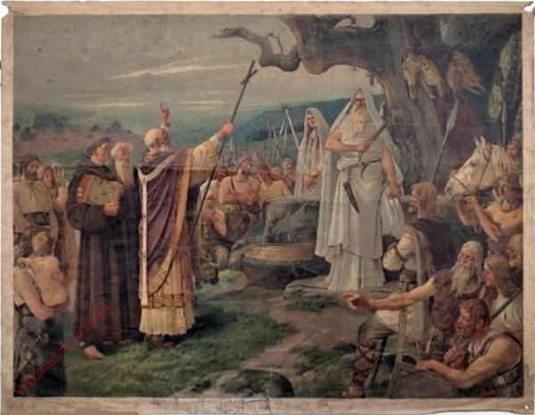 K.I.21 - Bekehrung der Germanen zum Christentum