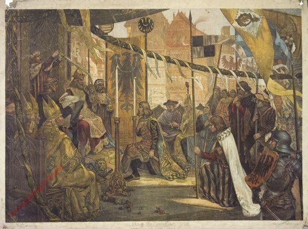 K.I.24 - Eine Belehnung (Burggraf Friedrich von Nürnberg in Konstanz)