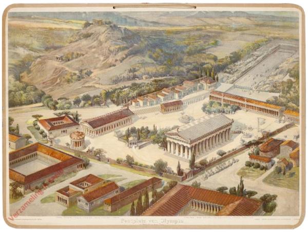 K.II.5 - [Griechen:] Festplatz von Olympia