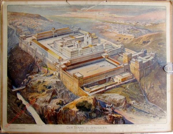 K.II.6 - [Juden:] Der Tempel zu Jerusalem, zur Zeit Christi