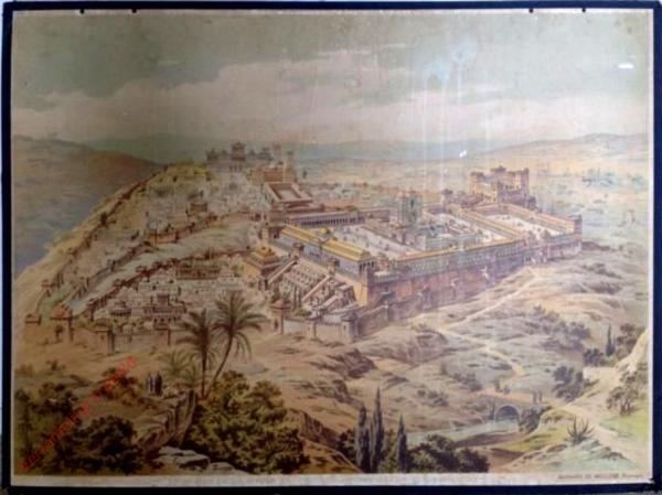 K.II.6 - [Juden:] Der Tempel zu Jerusalem, zur Zeit Christi [herzien]