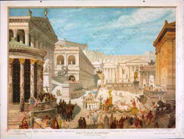 K.II.8 - [Römer:] Das Forum Romanum