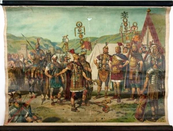 K.II.10 - [Römer:] Im Römischen Lager