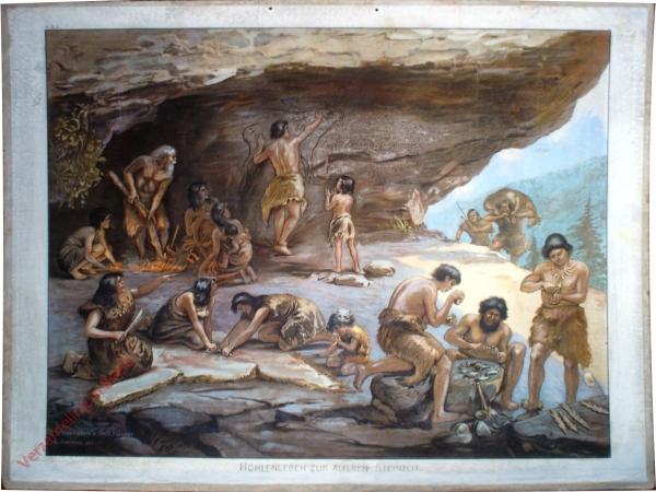 K.III.3 - Höhlenleben zur älteren Steinzeit
