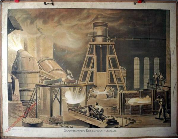 T 5 - Dampfhammer, Bessemern, Puddeln