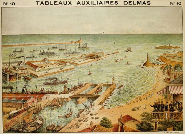 Série II : N°10 - La Mer, la Plage, le Port