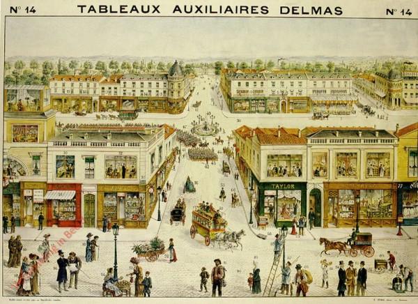 Série III : N°14 - La Rue, les Commerçants