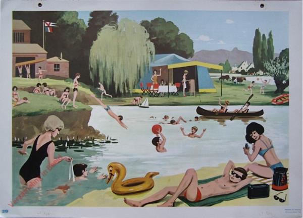 29 - Vie animee loisirs au bord du lac