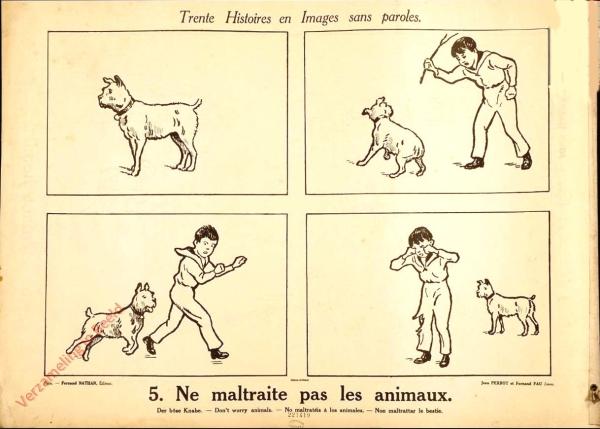 5 [1e druk] - Ne maltraite pas les animaux