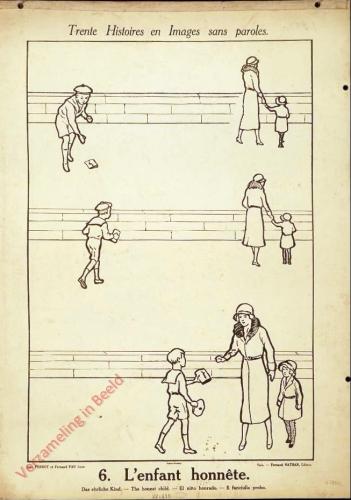 6 [1e druk] - L'enfant honn�te