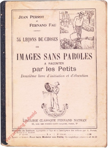 2 - 34 Lecons de choses en images sans paroles a raconter par les Petits [Frans]