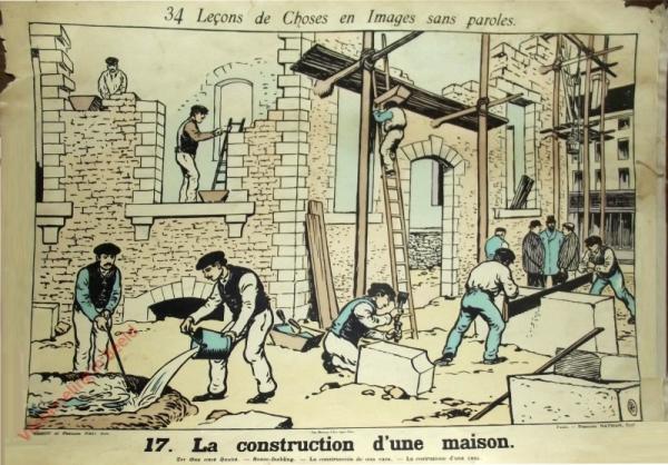 17 [1e druk] - La construction d'une maison