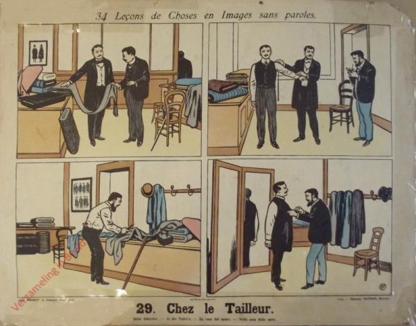 29 [1e druk] - Chez le tailleur