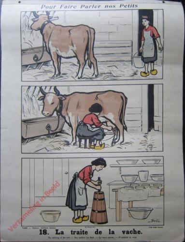 18 [2e série] - La traite de la vache