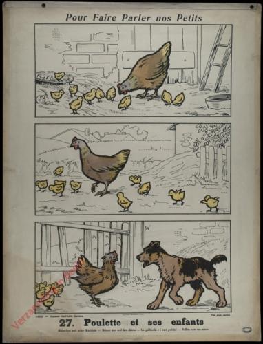 27 [2e série] - Poulette et ses enfants