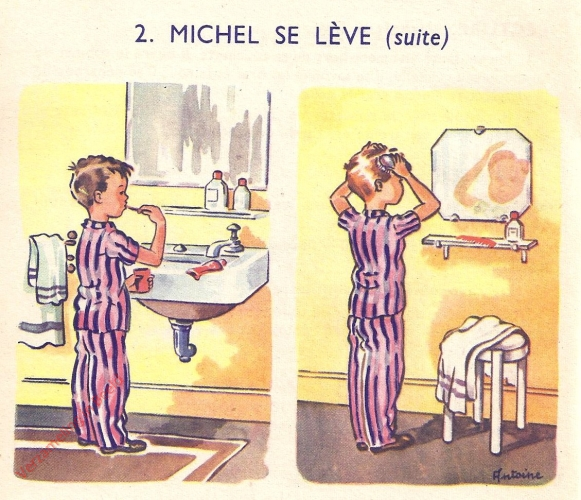 2 - Michel se l�ve - II