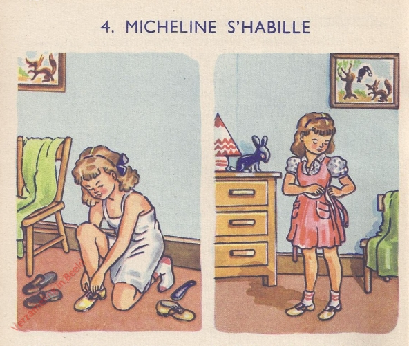 4 - Micheline s'habille - I