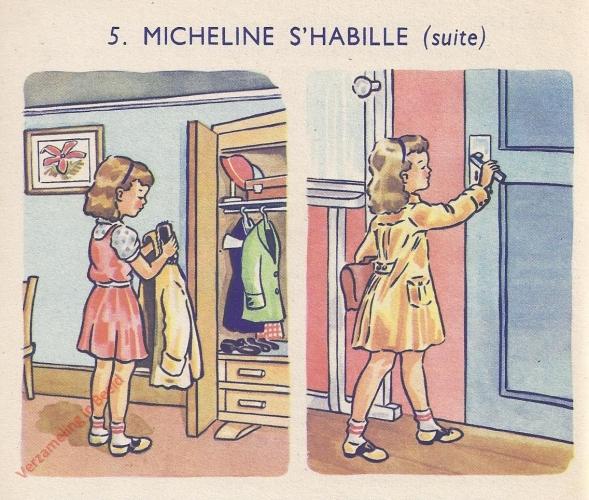 5 - Micheline s'habille - II