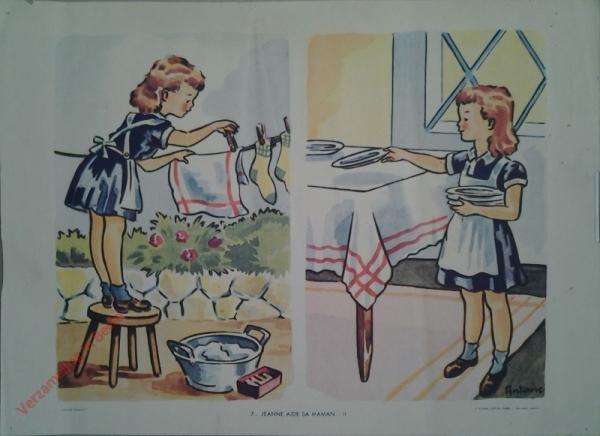 7 - Jeanne aide sa maman-II