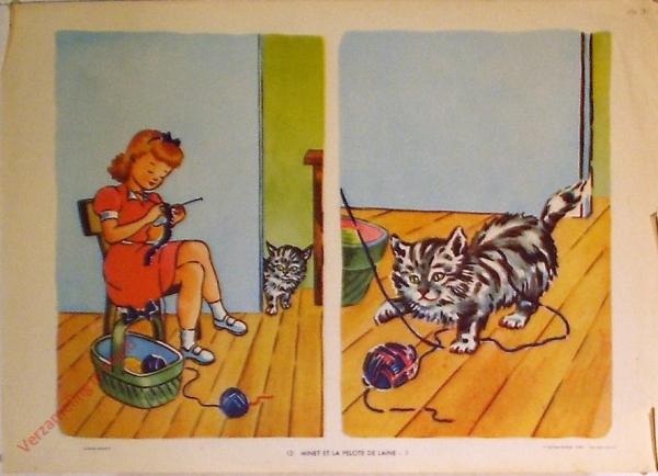 13 - Minet et la pelote de laine - I
