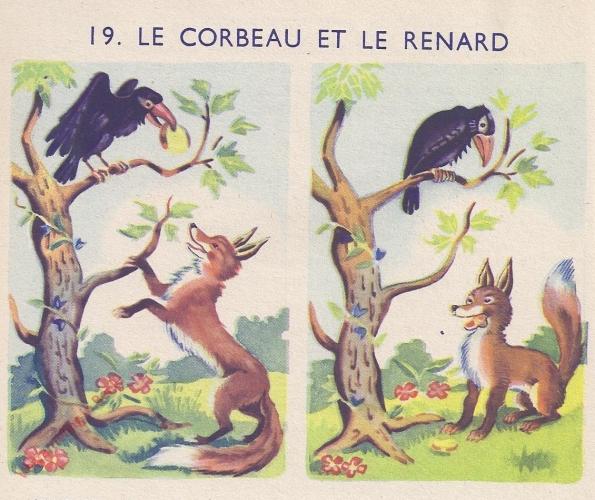 19 - Le corbeau et le renard