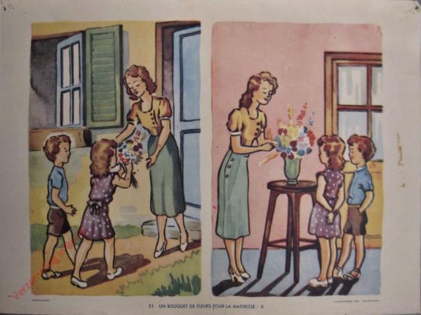 21 - Un bouquet de fleurs pour la maitresse - II