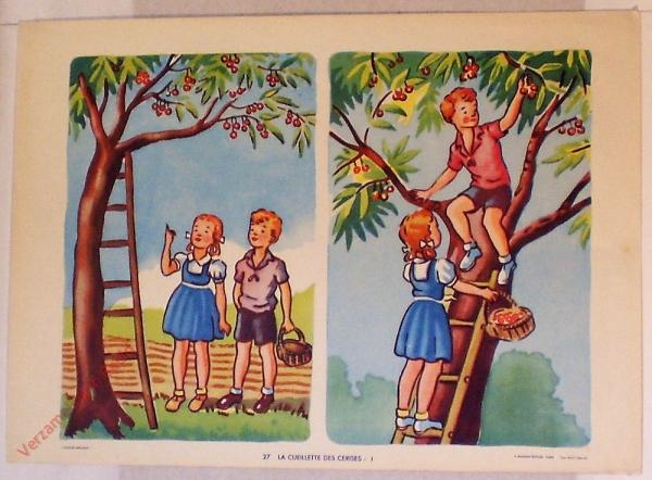 27 - La cueillette des cerises - I