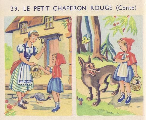 29 - La petit chaperon rouge - I
