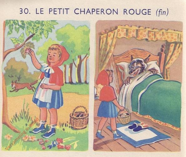 30 - La petit chaperon rouge - II