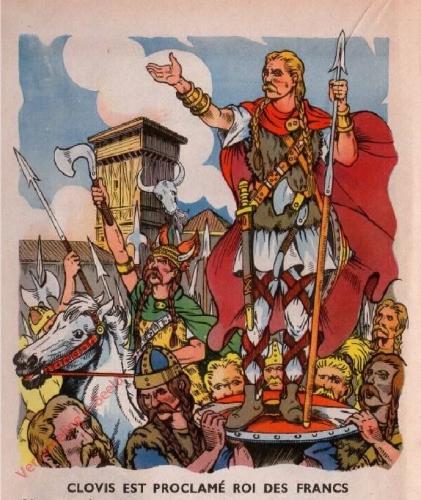 5 - [Clovis est proclam� Roi des Francs]