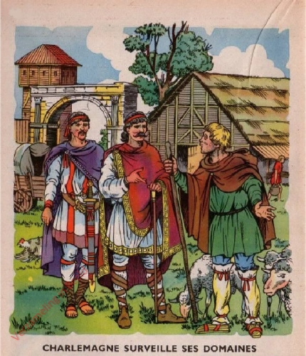 6 - [Charlemagne surveille ses domaines]