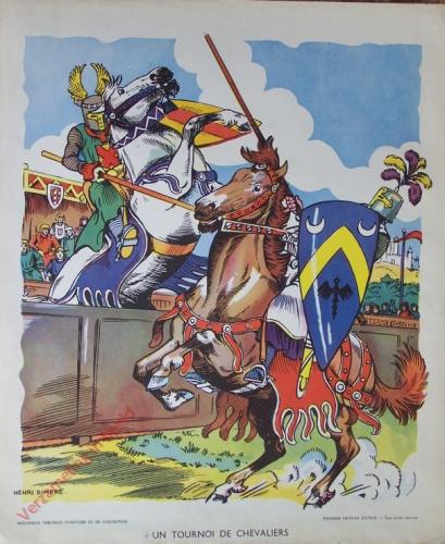 10 - Un tournoi de chevaliers. [la vie du seigneur]