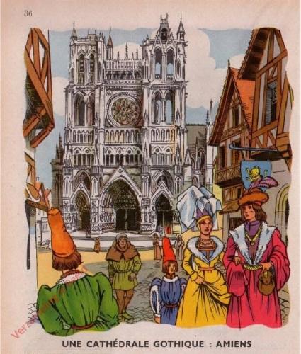 17 - [Une cath�drale gothique; Amiens]