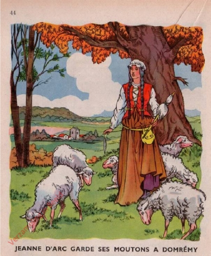 21 - [Jeanne d'Arc garde ses moutons a Domr�my]