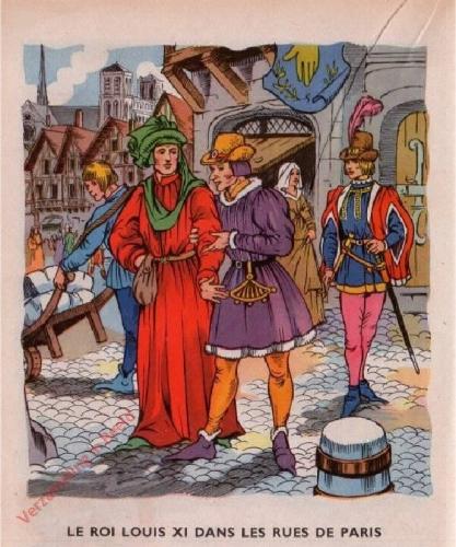 23 - [Le roi Louis XI dans les rues de Paris]
