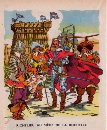 33 - [Richelieu au si�ge de la Rochelle]