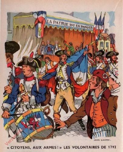 44 - ['Citoyens, aux armes'; Les volontaires de 1792]