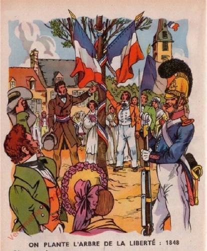 49 - [Les Arbres de la Libert� en 1848]