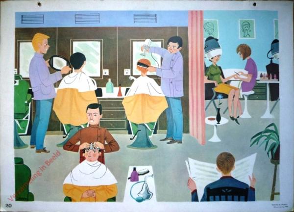 20 - Chez le coiffeur