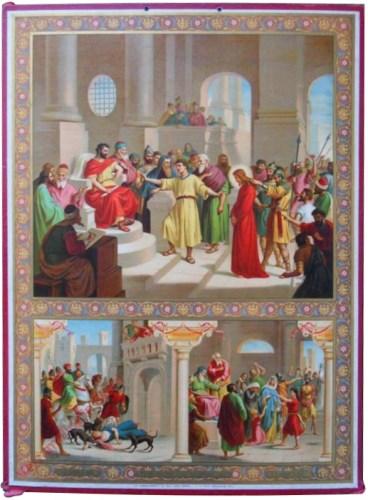 44 - Achtste gebod van God – Mijd den achterklap en 't liegen