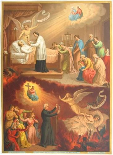 56 - De uitersten. De dood van de rechtvaardige en de dood van de zondaar