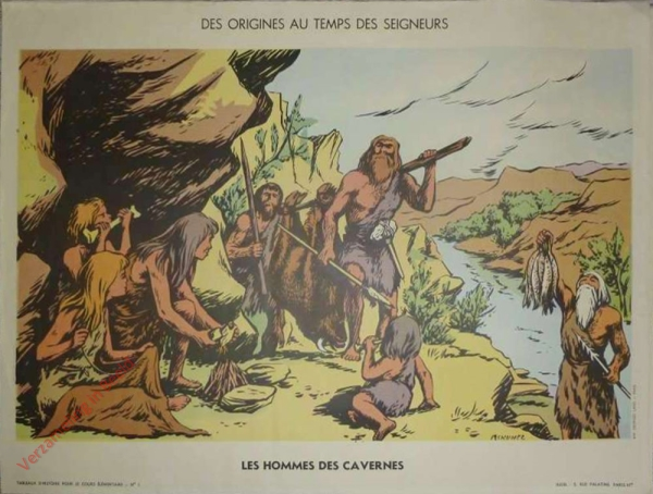 1 - Des hommes des cavernes