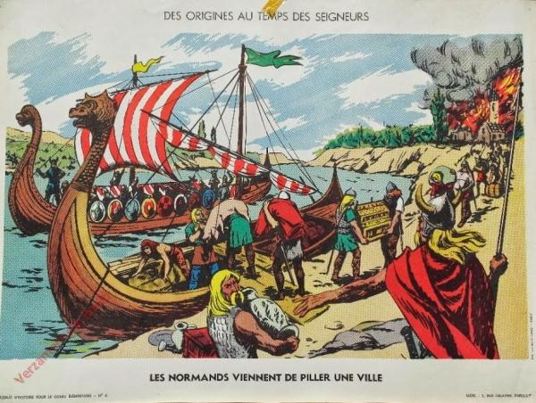 6 - Les Normands viennent de piller une ville
