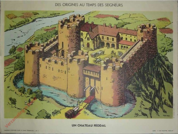 7 - Un château féodal
