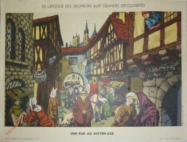 9 - Une rue au Moyen Age