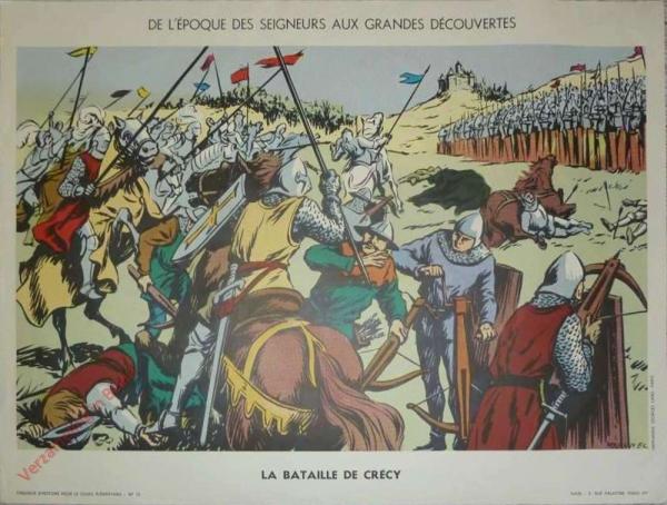 12 - La bataille de Crécy