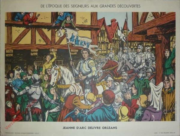 13 - Jeanne délivre Orléans