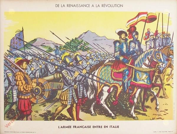 17 - L'armée française entre en Italie