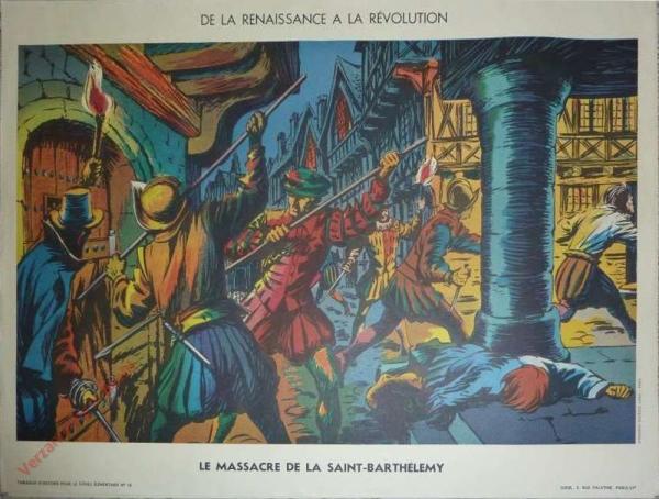 18 - Massacre de la saint Barthélémy