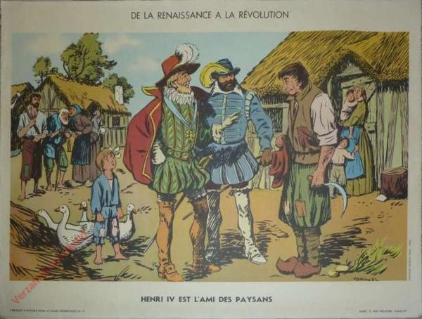 19 - Henri IV est l'âme des paysans